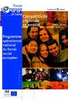 FSE Programme National du Fonds Social Europen 2007-2013