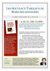 Nouveaux tableaux de bord des managers