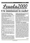 Scuola 2000 numero 77 - Centro Studi e Ricerche - Lucca