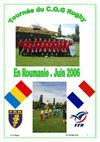 Tournée Roumanie COG SectionRugby mai 2006