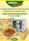 Snacks, bars, fast-food cuisez une véritable pizza traditionnelle en 90 sec
