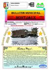 Bulletin Municipal de la commun de Montjaux n 47 - Janvier 2009