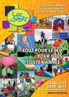 LOCSPORT - Location de matriel ludique et pdagogique - Catalogue 2010-2011