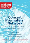 Concert Promoters&#039; Network Brochure 2010/11