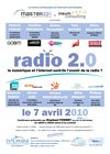 Affiche - Radio 2.0 : l&#039;Internet et le Numrique sont-ils l&#039;avenir de la Radio ?