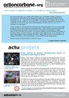 Programme Action Carbone - Newsletter Juillet 2010 - Fondation GoodPlanet - Yann Arthus-Bertrand