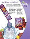 Acai Natural Energy Boost- SuperFruit All-natural Drink Mix
