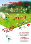 Programme CLSH Automne 2010