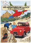 The adventures of the Citroën 2CV and the haunted cave