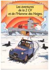 The adventures of the Citron 2CV and the Abominable Snowman