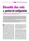 Scurit des vols et gestion de configuration (PLAF 6, juin 2005)