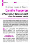 Un critique franais de Douhet : Camille Rougeron et l&#039;aviation de bombardement dans les annes trente