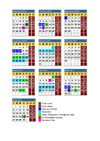 Calendario curso 2010-2011