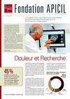 FONDATION APICIL CONTRE LA DOULEUR Newsletter 5