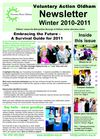 VAO Winter 10-11 newsletter
