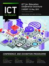 ICT For Education Cardiff Conference Brochure 2011