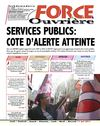 SERVICES PUBLICS: COTE DALERTE ATTEINTE