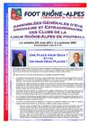 JOURNAL SPECIAL AG N48 DU 9 JUIN 2011