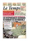 Le Temps d&#039;Algrie Edition du Jeudi 07 juillet 2011