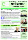 VAO Summer 2011 Newsletter