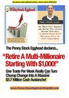 the penny stock egghead review - penny stock millionaire