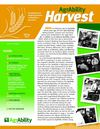 Spring 2011 Harvest Newsletter, National AgrAbility