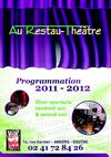 Programmation 2011 - 2012 Au Restau-Thtre