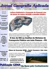 Jornal Geografia Aplicada - Outubro 2011