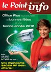 Le Point Info - Dcembre 2011 / Janvier 2012
