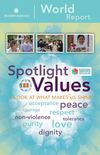 Spotlight Values World Report