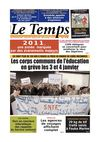 Le Temps d&#039;Algrie Edition du Jeudi 29 Dcembre 2011
