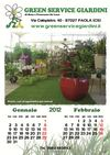 Calendario 2012 Green Service Giardini