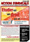 Action syndicale fvrier 2012