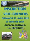 VIDE GRENIER SEOUGUE 22 AVRIL 2012
