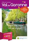 Carte touristique Val de Garonne 2012