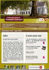 Fontaine-Guérard - newsletter mai 2012