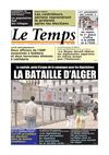 Le Temps d'Algérie Edition du Samedi 05 Mai 2012