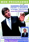 Programme Max Delmond - Elections Legislatives 2012 - 3e Circonscription du Haut-Rhin