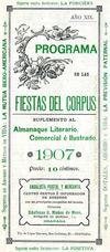 ARCHIVO DE LA REAL CHANCILLERA DE GRANADA CORPUS GRANADA PROGRAMA 1907