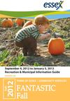 Fall 2012 Recreation and Municipal Information Guide