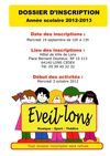 Eveil Lons 2012/2013