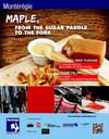 Maple, from the sugar paddle to the fork