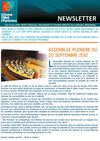 NEWSLETTER SEPTEMBRE 2012
