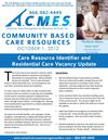 Care Resource Identifier & Vacancy Update 10.1.12