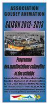 Ensemble des manifestations culturelles, spectacles, concerts, événements se déroulant à Golbey (Vosges 88) via l'association Golbey Animation en Lorraine.