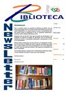 NewsLetter da Biblioteca da Escola Superior de Tecnologia e Gesto de Lamego
