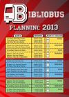 Planning 2013 bibliobus