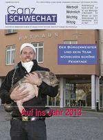 Jänner-Ausgabe 2013 © Stadtgemeinde Schwechat