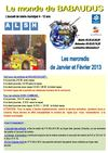 Programme Monde de Babaudus janvier-fvrier 2013