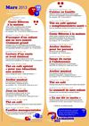 Programme maison des parents mars 2013